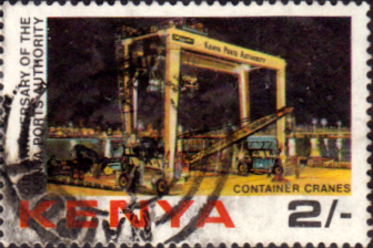 Postage Stamps Kenya 1983 Ports Authority SG 233 Fine Used Scott 239