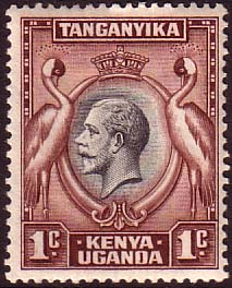 Kenya Uganda Tanganyika 1935 King George V SG 110 Fine Used Scott 45 Stamps