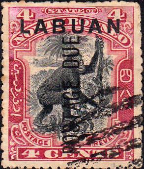Stamp Stamps North Borneo 1888 Postage And Revenue Good