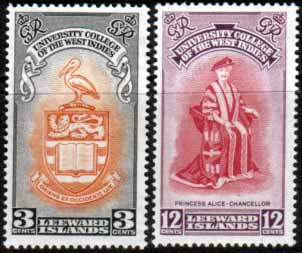 Leeward Islands Stamps For Sale
