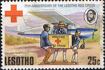 Lesotho 1976 Red Cross SG 299 Fine Used