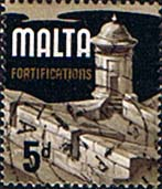 Malta 1965 SG 337b Fortifications Fine Used