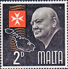 Malta 1966 SG 362 Churchill Fine Mint