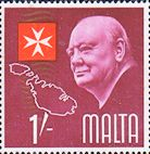 Malta 1966 SG 364 Churchill Fine Mint