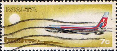 Malta 1978 World Air Planes SG 606 Fine Used