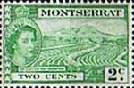 Montserrat 1953 Queen Elizabeth II SG 138 Sea Island Cotton Cultivation Fine Mint