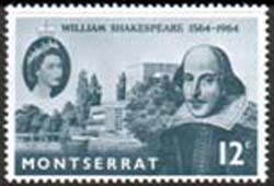 Stamps Montserrat 1964 William Shakespeare Stamps