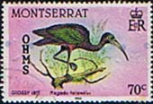 Montserrat 1985 Official OHMS SG O69 Fine Used