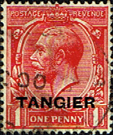 Morocco Agencies TANGIER 1927 SG 232 King George VI Fine Used
