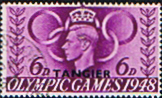 Morocco Agencies TANGIER 1948 Olympic Games SG 259 Fine Used