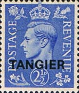 Morocco Agencies TANGIER 1949 SG 262 King George VI Fine Mint