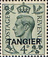 Morocco Agencies TANGIER 1949 SG 264 King George VI Fine Mint