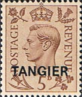 Morocco Agencies TANGIER 1949 SG 265 King George VI Fine Mint