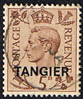 Morocco Agencies TANGIER 1949 SG 265 King George VI Fine Used