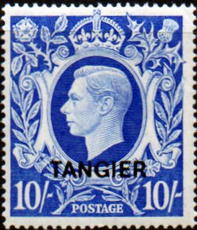 Stamp Stamps Morocco Agencies TANGIER 1949 SG 273 King George VI Fine Mint Scott 543