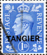 Morocco Agencies TANGIER 1950 SG 281 King George VI Fine Used