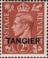 Stamps Stamp Morocco Agencies TANGIER 1950 SG 283 King George VI Fine Mint Scott 553