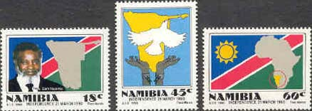 Namibia 1990 Independence Set Fine Mint