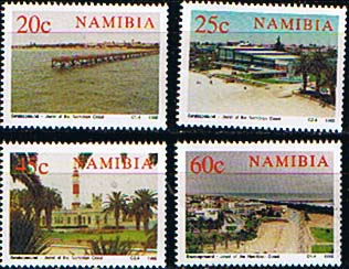 Namibia 1992 Centenary of Swakopmund Set Fine Mint