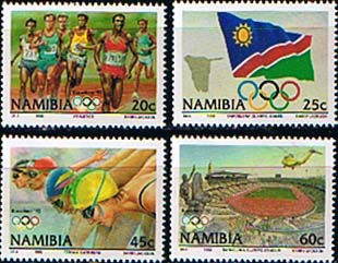 Namibia 1992 Olympic Games Set Fine Mint