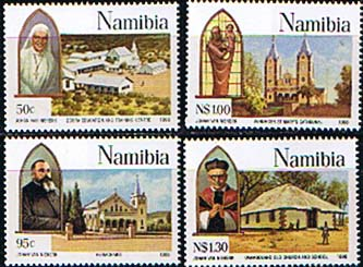 Namibia 1996 Catholic Missions Set Fine Mint