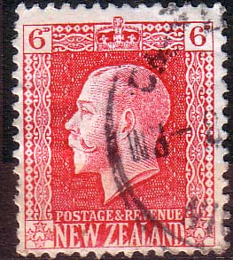 New Zealand 1915 SG 425 George V Head Fine Used