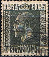New Zealand 1915 SG 437 George V Head Typo Fine Used