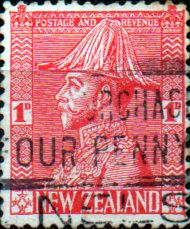 New Zealand 1926 George V Uniform SG 468 Fine Used