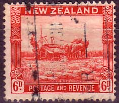 New Zealand 1935 SG 564 Harvesting Fine Used