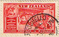 New Zealand 1936 Wellington Chamber of Commrce Conference SG 594 Fine Used
