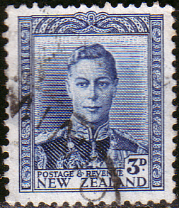 New Zealand 1938 King George VI SG 609 Fine Used
