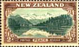 New Zealand 1946 King George VI Victory SG 667 Fine Mint