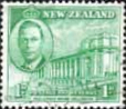 New Zealand 1946 King George VI Victory Set Fine Used