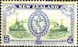 New Zealand 1946 King George VI Victory SG 673 Fine Mint