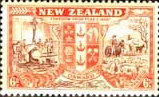 New Zealand 1946 King George VI Victory SG 674 Fine Mint