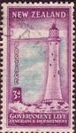 New Zealand 1947 Lighthouses SG L46 Fine Used