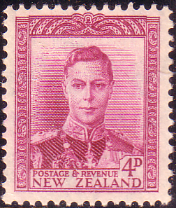 Postage Stamp Stamps New Zealand 1947 Fine Mint SG 681 Scott 260