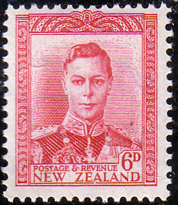 Postage Stamps New Zealand 1947 SG 683 Fine Mint SG 683 Scott 262