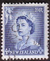 Stamps New Zealand 1953 Queen Elizabeth SG 728 Fine Used SG 728 Scott 293