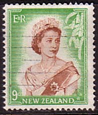 New Zealand 1953 Queen Elizabeth Stamps SG 731