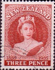 Stamps of New Zealand 1953 Centenary of the Postage Stamp Set Fine Mint