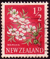 New Zealand 1960 Flowers SG 781 Fine Used