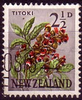 New Zealand 1960 Flowers SG 784 Fine Used