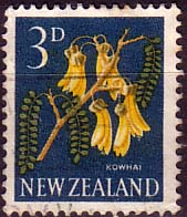 New Zealand 1960 Flowers SG 785 Fine Used