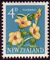 New Zealand 1960 Flowers SG 786 Fine Mint