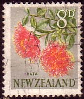New Zealand 1960 Flowers SG 789 Fine Used