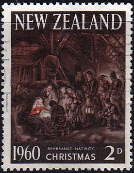 New Zealand 1960 SG 805 Christmas Fine Used