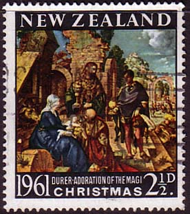 New Zealand 1961 SG 809 Christmas Fine Used