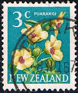New Zealand 1967 SG 849 Flower Fine Used