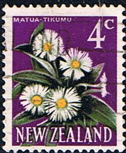 New Zealand 1967 SG 850 Flower Fine Used